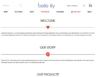 bellelily promo codes