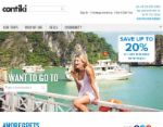 Contiki coupons $300 OFF orders over $445