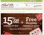 Ethel M Chocolates coupons 15% OFF