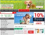 Pet Care Supplies coupons Free ground shipping