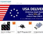 Tomtop coupons Free ground shipping