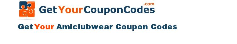 Amiclubwear coupon codes online