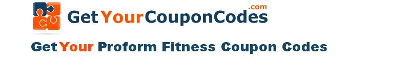 Proform Fitness coupon codes online