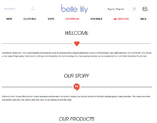 bellelily Promo Codes and Deals