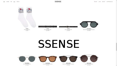 Ssense Coupons and Deals